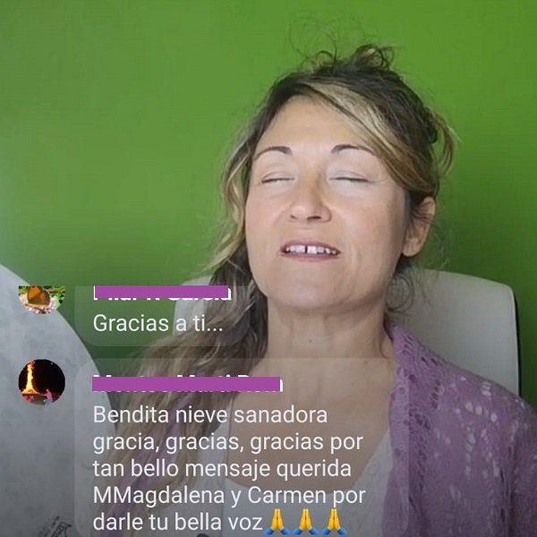 Facebook Live de Mujer a Mujer con María Magdalena